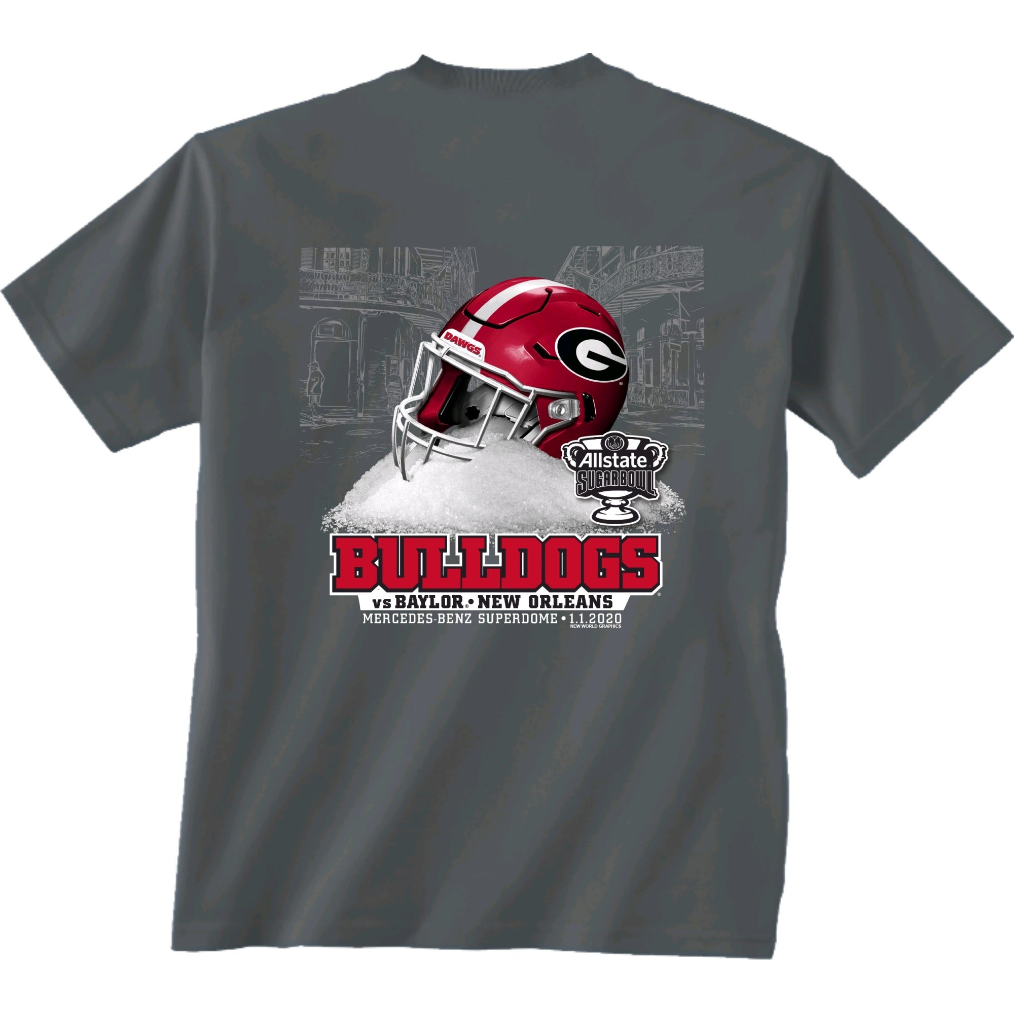 Dawgs in the Sugar Bowl Official T-Shirt