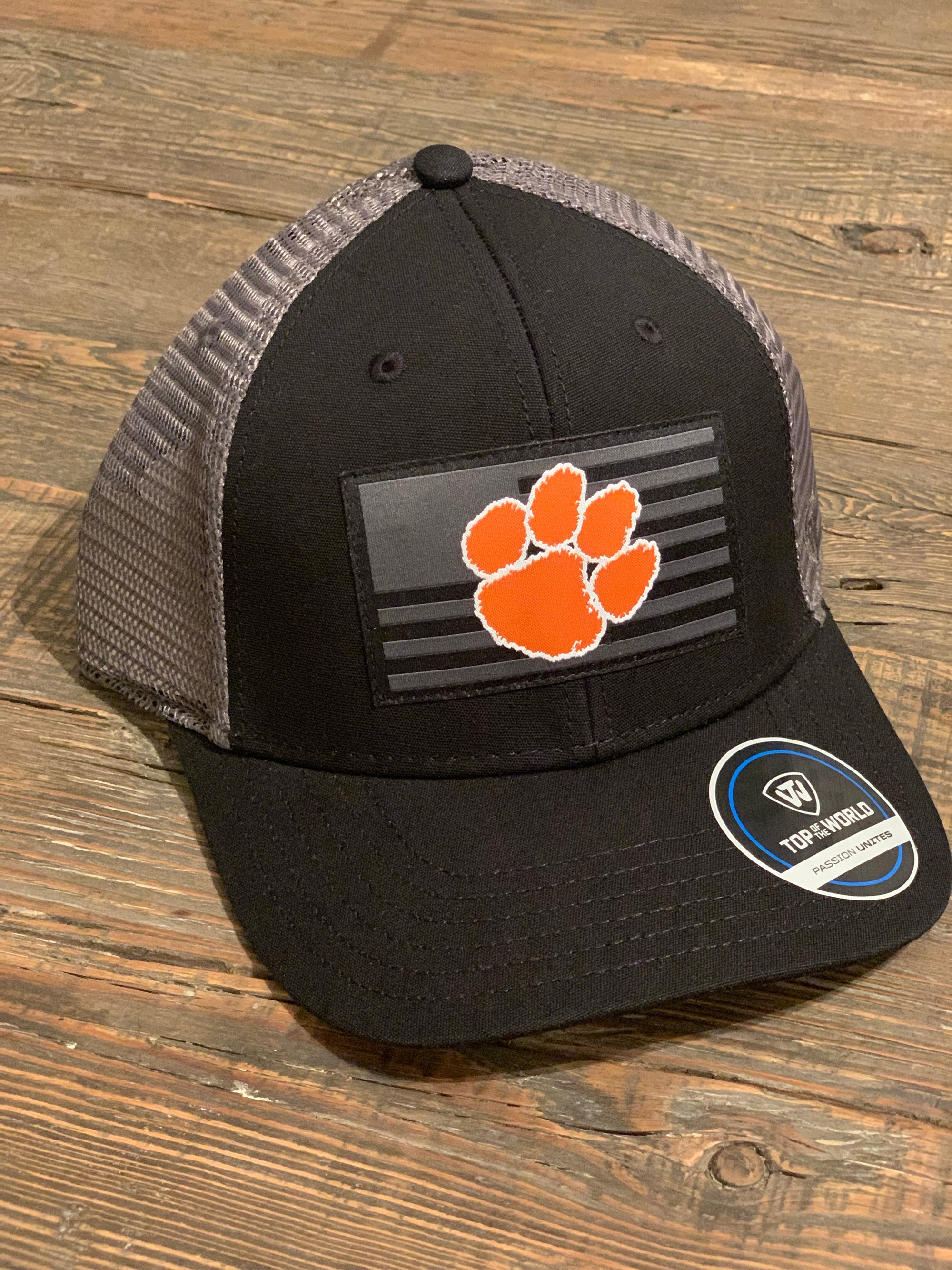 "Clemson ""Stealth Series"" Hat"