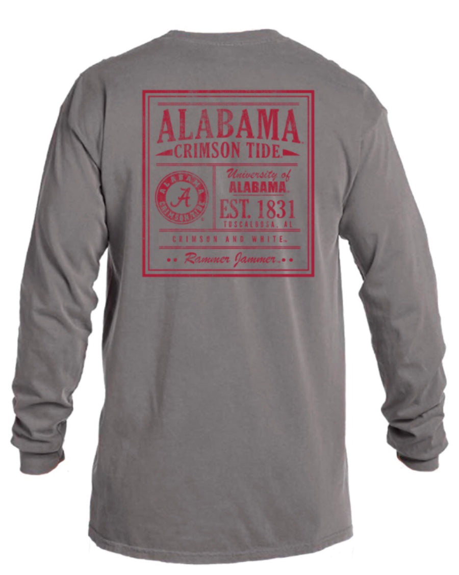 "Alabama ""Rammer Jammer"" Comfort Color T"