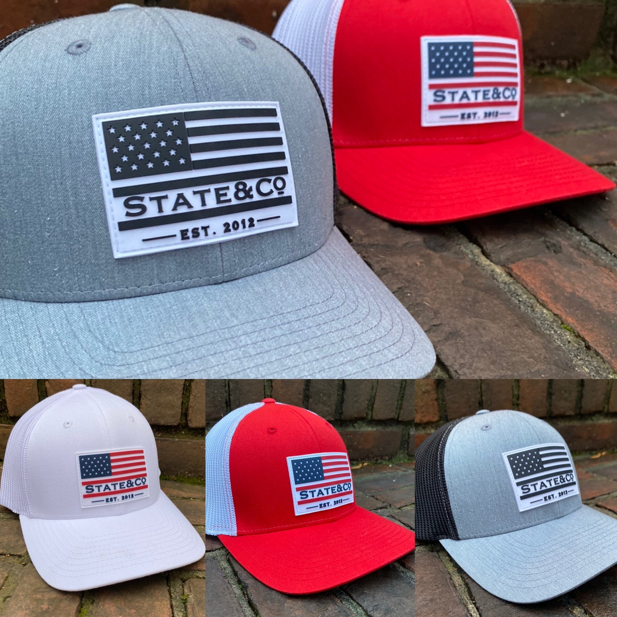 "State & Co. ""Flag Patch"" FlexFit Hat"