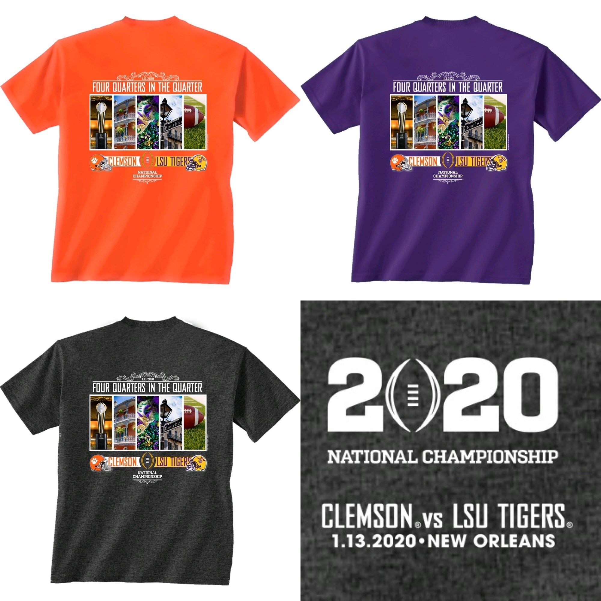 #1 LSU vs #3 Clemson- National Championship
