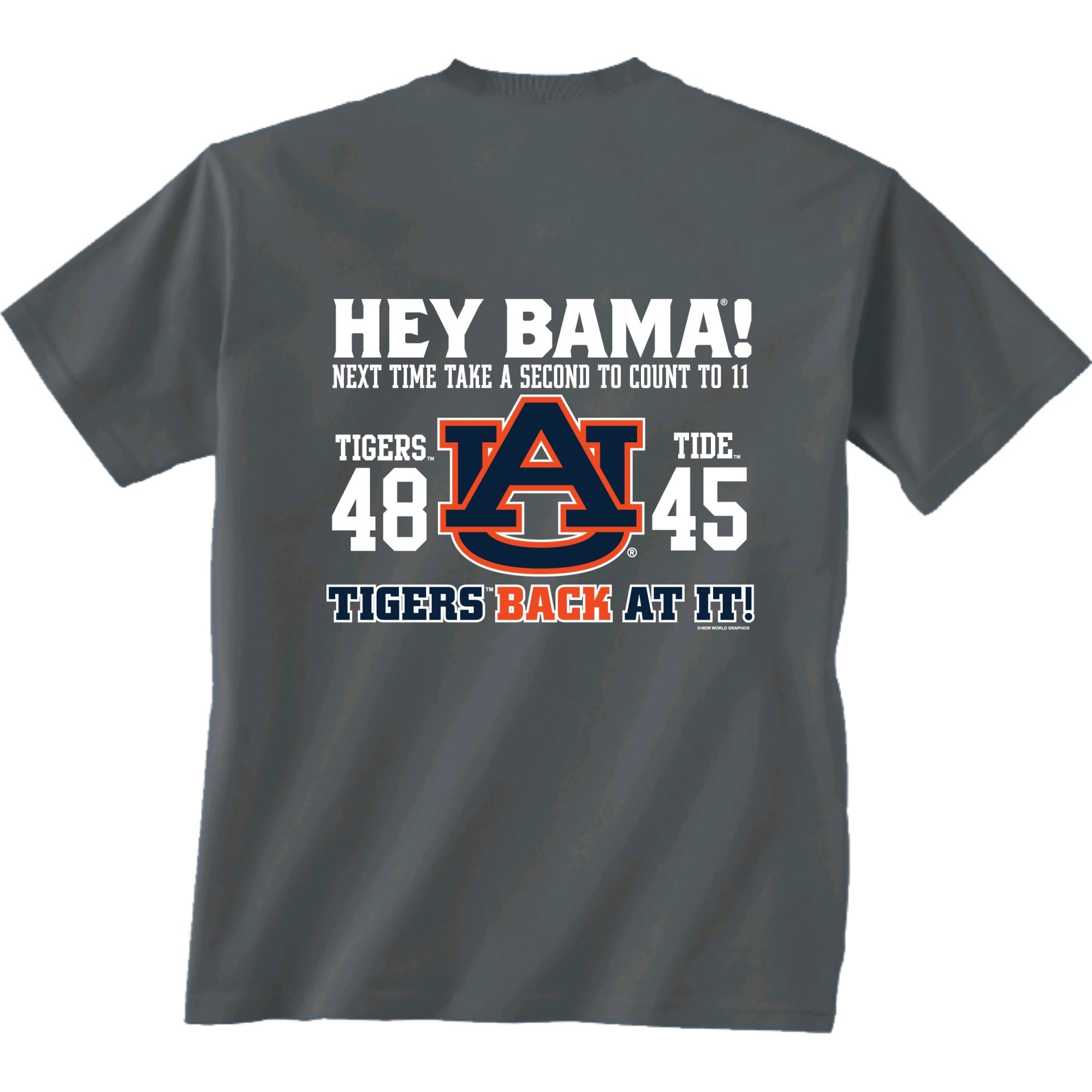 "Auburn - ""Take A Second To Count"" Score Shirt"