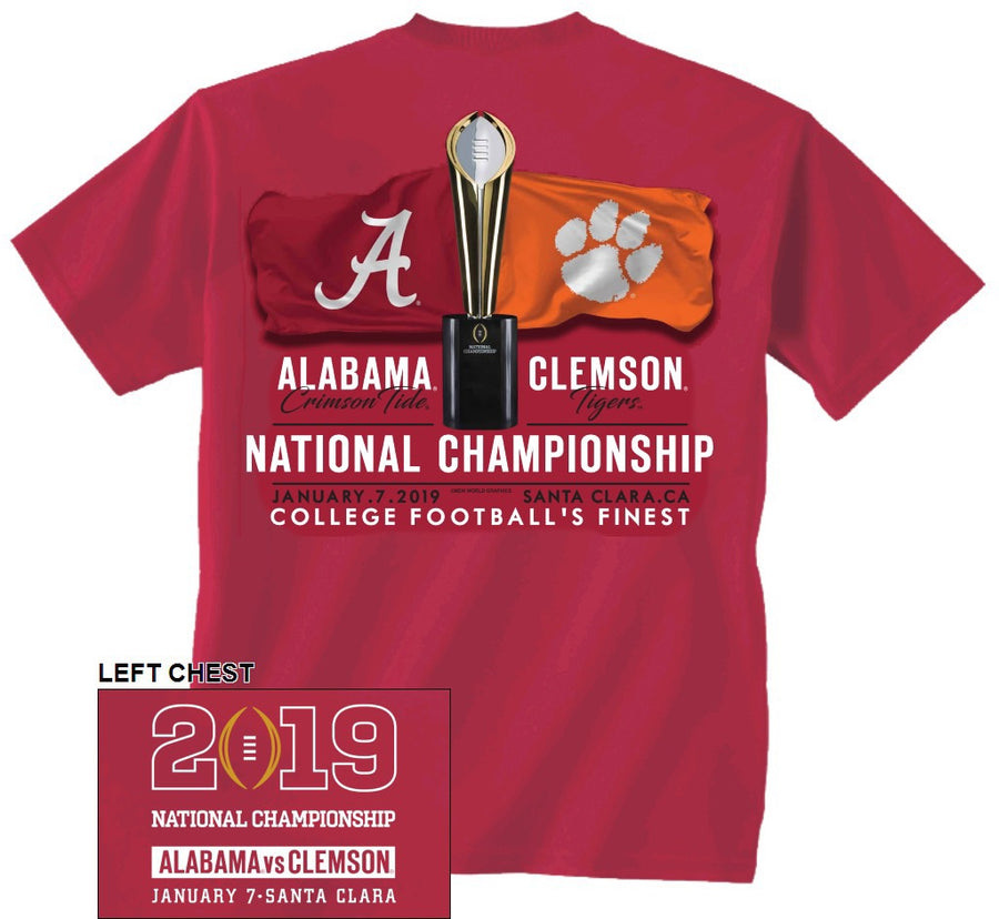 "Alabama ""Headed to Santa Clara"" CFP Shirt"