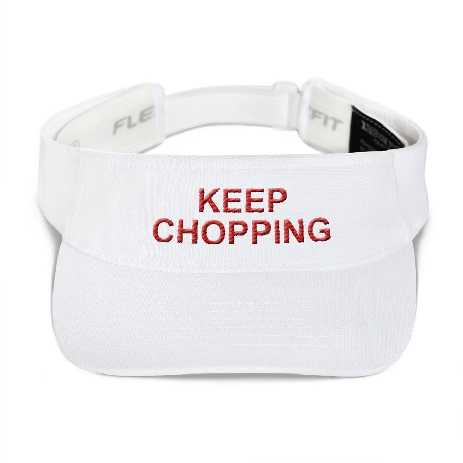 """Keep Chopping"" Visor"