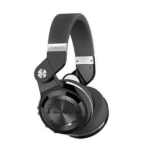Bluedio T2S Bluetooth Headphones~Black