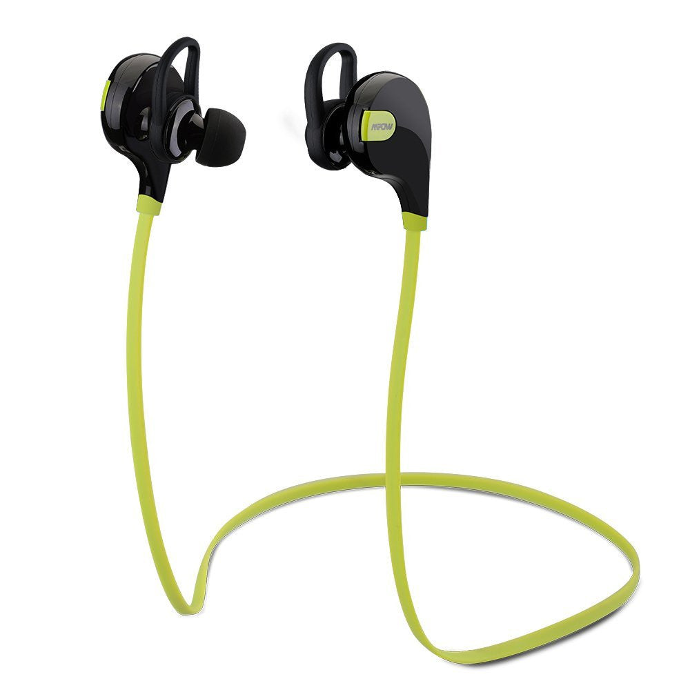Mpow Swift Bluetooth Earphones ~ Green
