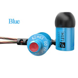 Knowledge Zenith ED3c Earphones  ~ Blue