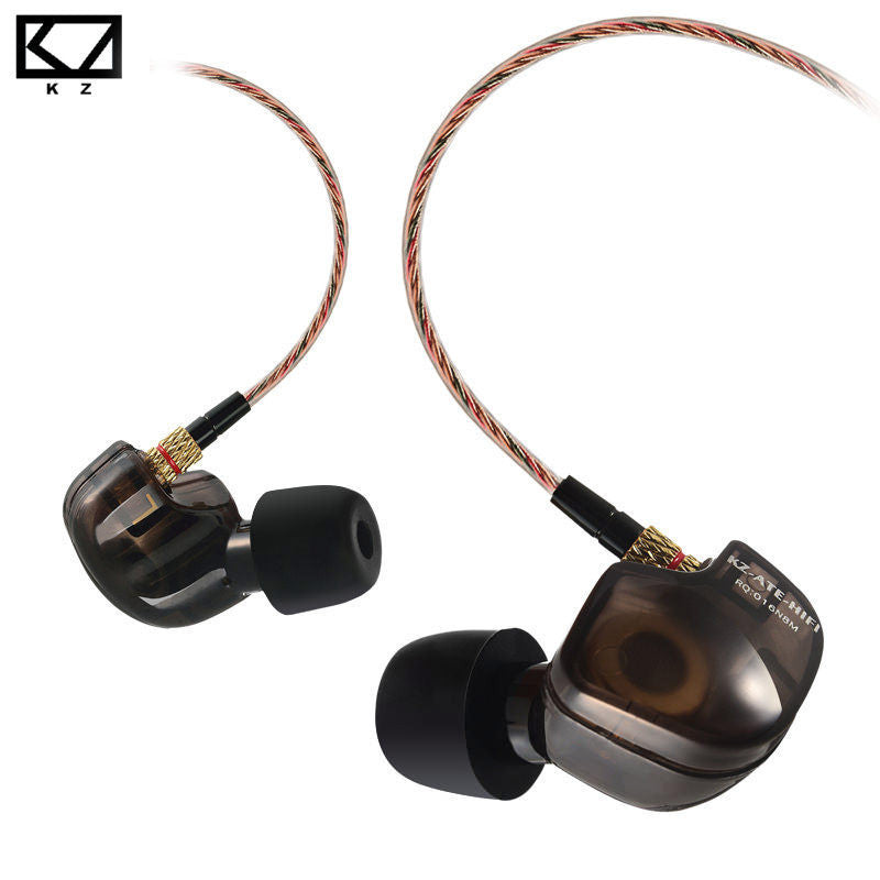 Knowledge Zenith ATE Sports Earphones with Mic ~Black