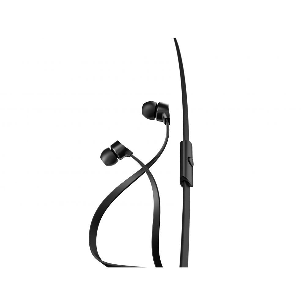 a-JAYS One+ Earphones with Mic and Remote ~ Black