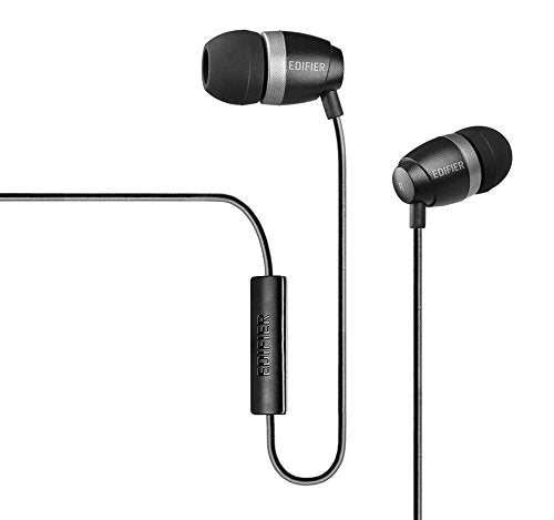Edifier P210 Earphones with Mic ~ Black