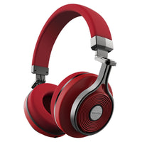 Bluedio T3 Bluetooth Headphones ~ Red