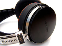 Rock Jaw Acero Stainless Steel and Ebony Headphones