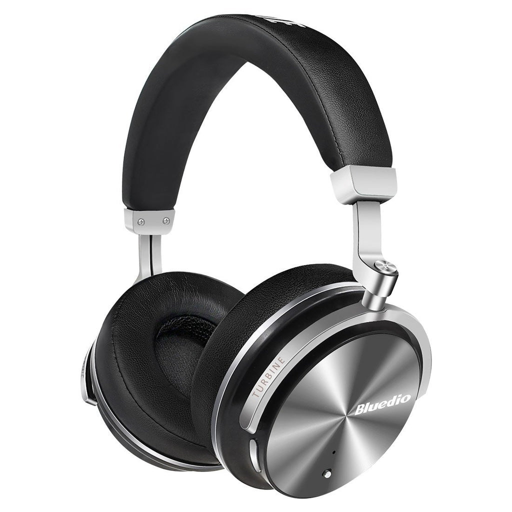Bluedio T4S Bluetooth ANC Headphones ~ Black