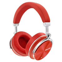 Bluedio T4S Bluetooth ANC Headphones ~ Red
