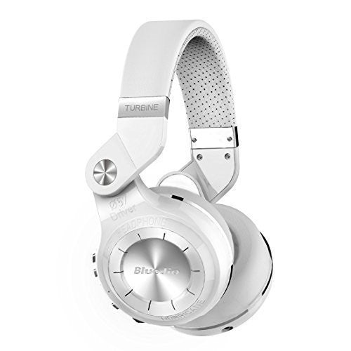 Bluedio T2S Bluetooth Headphones~White