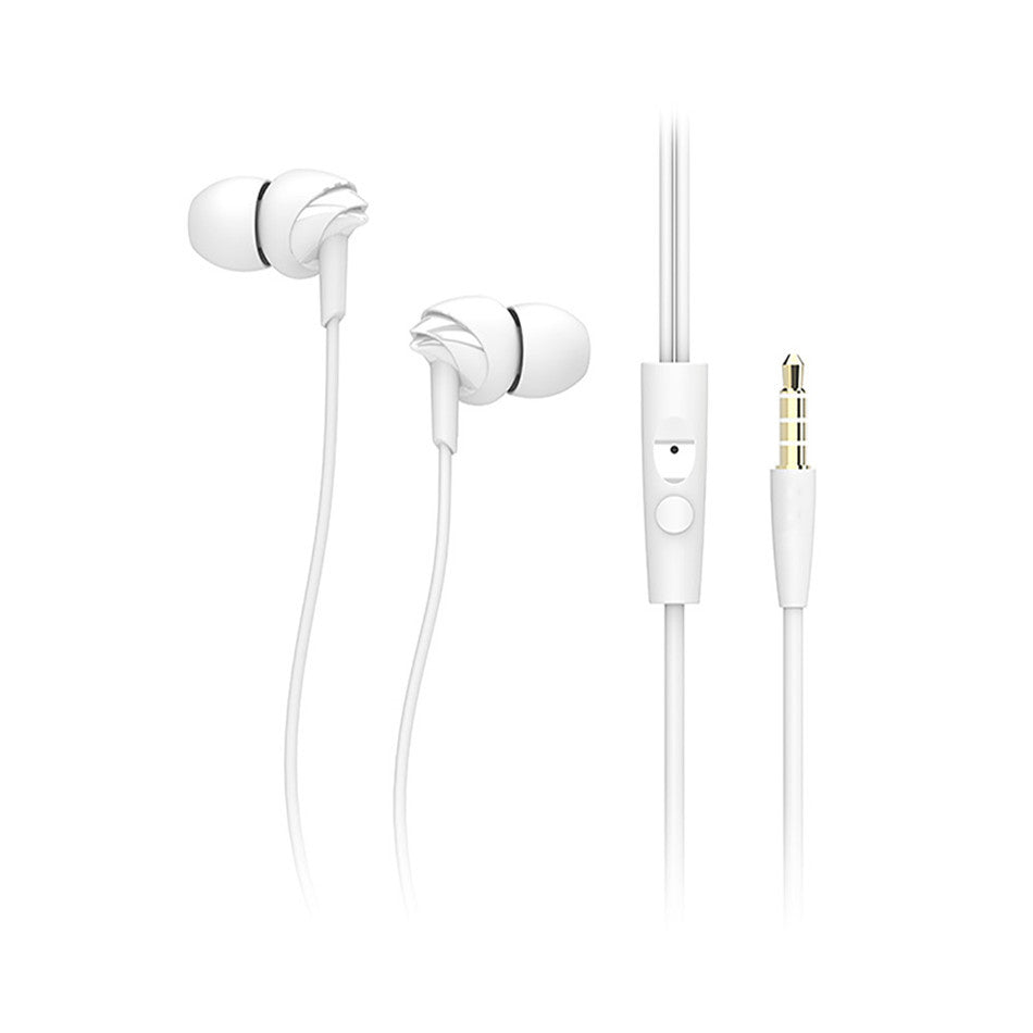 Rock Y1 Earphones with Mic~White