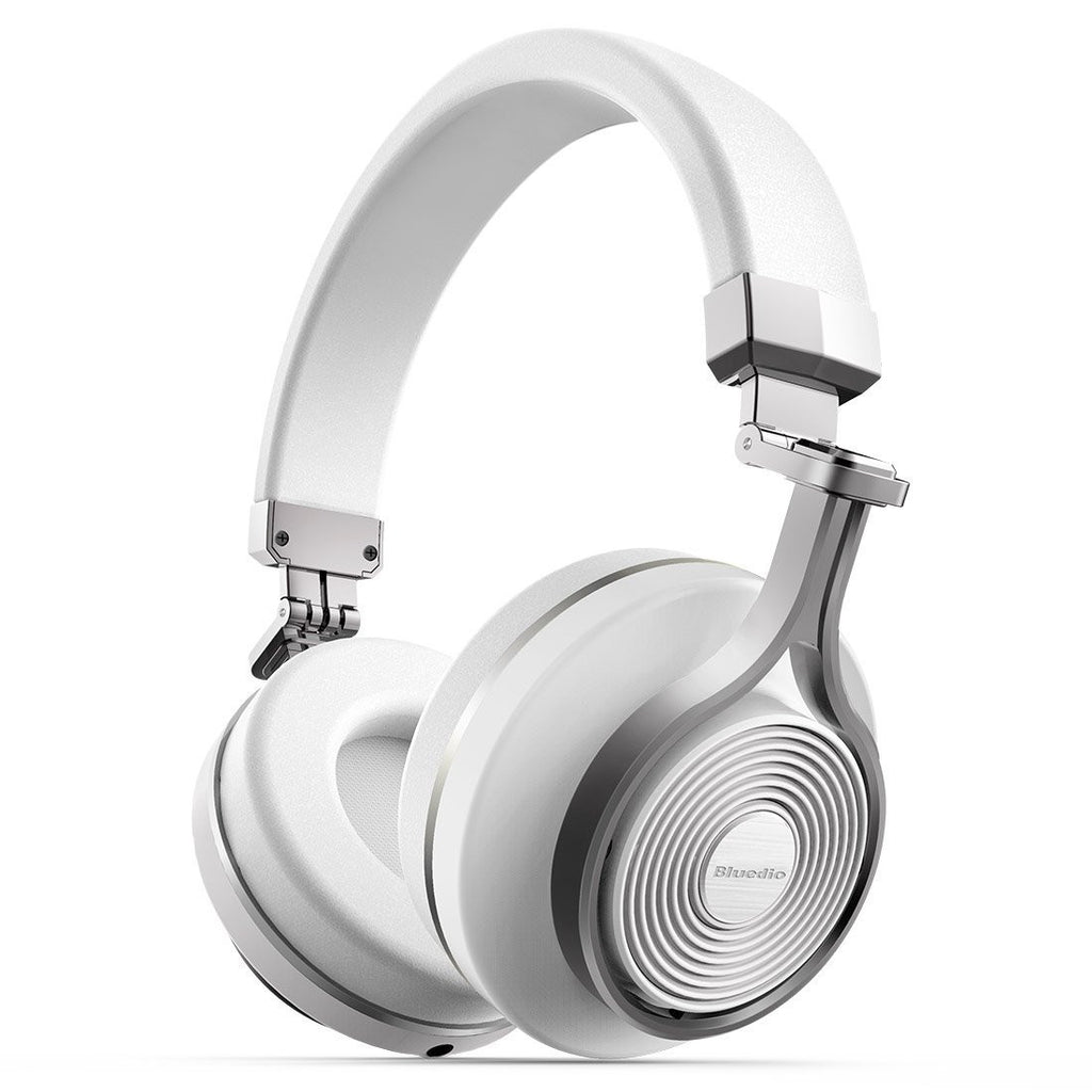 Bluedio T3 Bluetooth Headphones ~ White