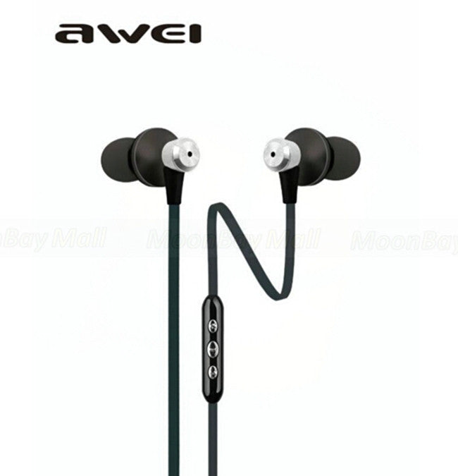 Awei TE850vi Earphones Black
