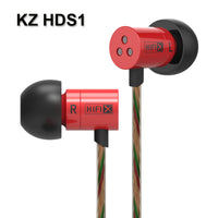 Knowledge Zenith HDS1 Earphones ~ Red