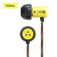 Knowledge Zenith HDS1 Earphones ~ Yellow