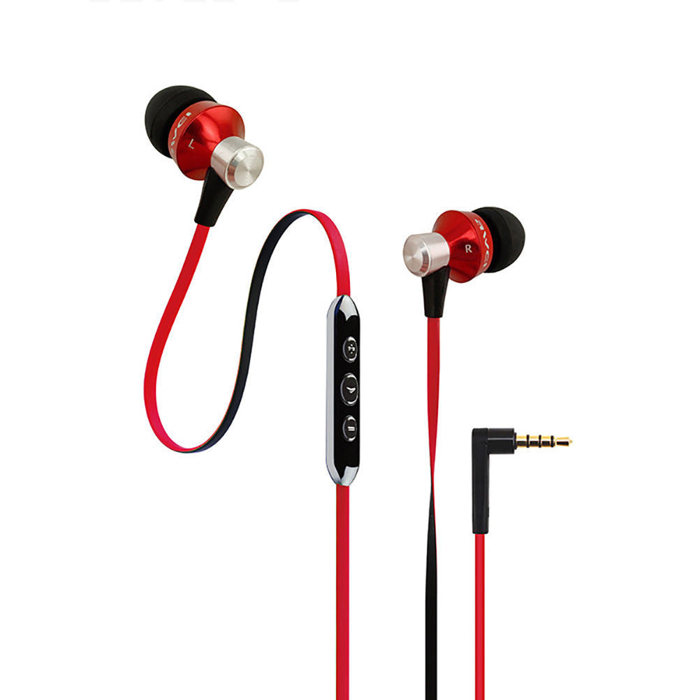Awei TE850vi Earphones Red