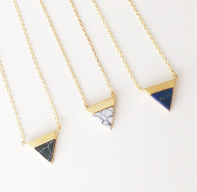 Collier Pyramide • 7 Bis