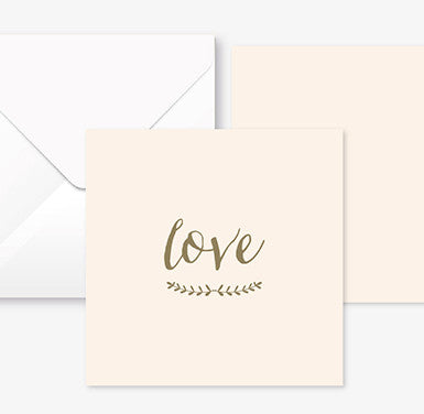 Carte Love • Mariotte