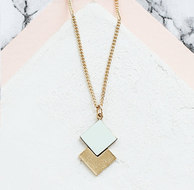 Collier Prisma Mint • Shlomit Ofir