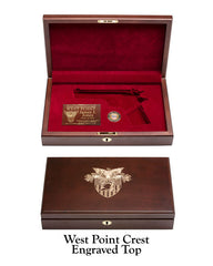 West Point Class of 1981 West Point Crest Top Display Case