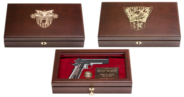 West Point Class of 1983 Reunion Pistol Display Case