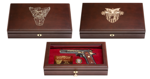West Point class of 1992 Class Pistol Display Case