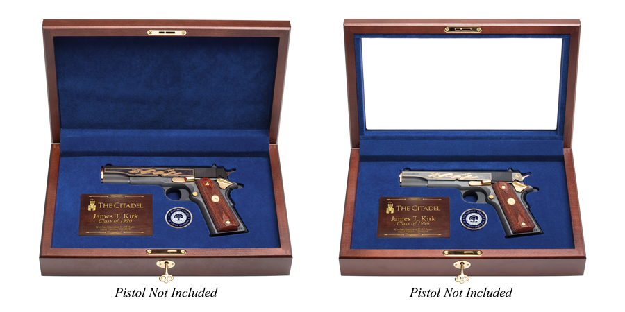 The Citadel Pistol Display Case