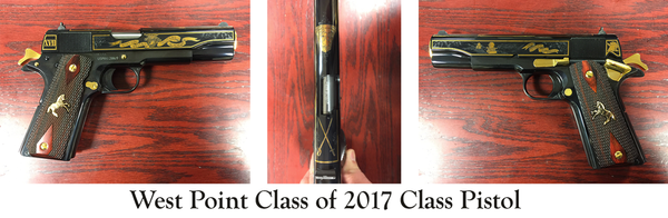 West Point Class of 2017 Commemorative Pistols