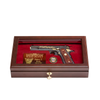1992 West Point Class Pistol Display Case - Glass Top