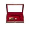 West Point Class of 2001 Class Pistol Display Case - Glass Top