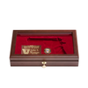 West Point Class of 2009 Class Pistol Display Case - Glass Top