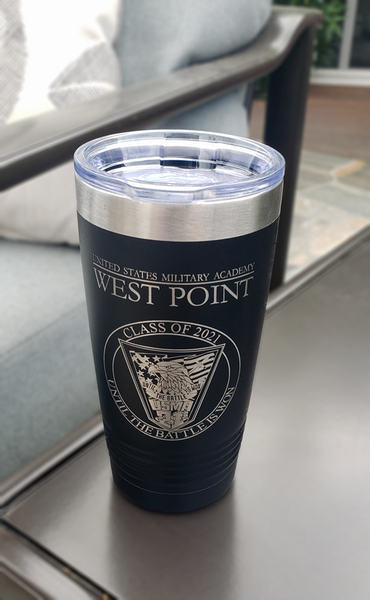 West Point Class of 2021 Class Crest Insulated Tumblers