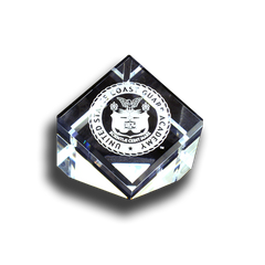 Coast Guard Academy Crest Paperweight