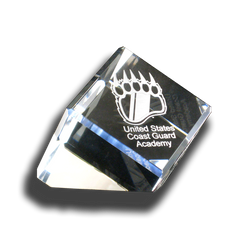 Coast Guard Academy Bear-Paw Logo Paperweight