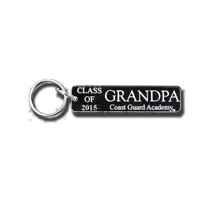 USCGA ÌÕClass of 2015ÌÒ Grandpa Key Chain