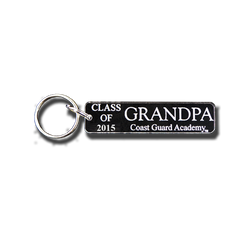 "Coast Guard Academy ""Class of ..."" Grandpa Key Chain"
