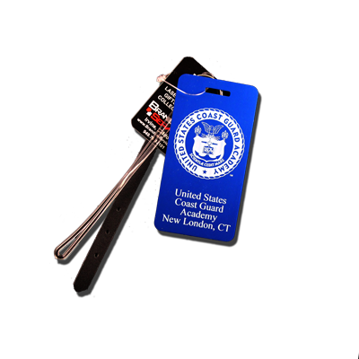 USCGA Seal Small Luggage Tag