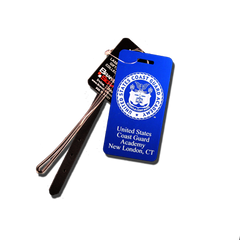 Coast Guard Academy Seal Small Luggage Tag