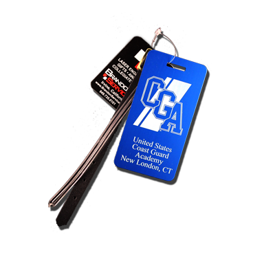 USCGA Logo Small Luggage Tag
