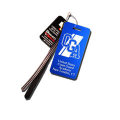 Coast Guard Academy Logo Small Luggage Tag