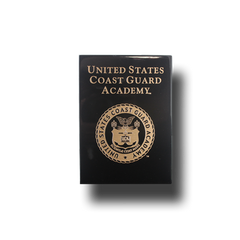 "6""x8"" Coast Guard Academy Black Wall Plaque"