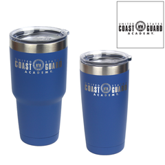 Coast Guard Academy Logo Laser Engraved Insulated Tumblers