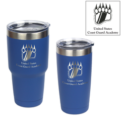 Coast Guard Academy Bear Paw Logo Engraved Insulated Tumblers