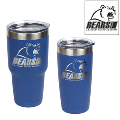 Coast Guard Academy Bears Logo Engraved Insulated Tumblers