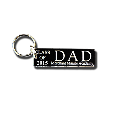 USMMA ‰ÛÏClass of 2015‰۝ Dad Key Chain